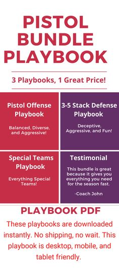 20 Best Playbooks Offense Images In 2020 Youth Football