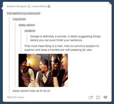 This battle of the search engines. | 33 Responses That Prove Tumblr Has The Best Users Ever