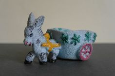 Vintage Italian Ceramic Donkey  2 x 5 by alltheseprettythings, £8.00