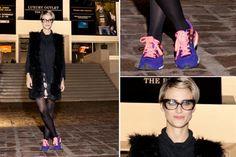 Ohlaleando: mirá lo que se puso Julieta Cardinali  Mónica Antonópulos, en cambio, se decantó por unas zapatillas deportivas en colores flúo. ¡Nos encanta su chaleco! Foto:Mass PR