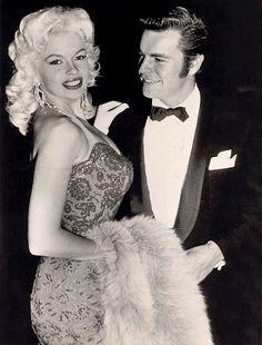 Jayne Mansfield & Robert Wagner