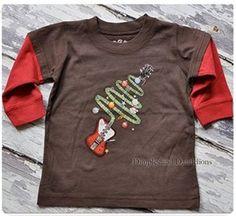 Idea for the boys' Christmas shirts?