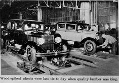 Repair Shop, The Body Shop, Old Cars, Antique Cars, Classic Cars, Automobile, Vehicles, Factories, Motors