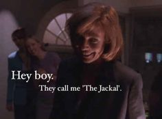 """Then there's C.J Cregg, the coolest one.   27 Reasons Why You're Still Watching """"The West Wing"""""""