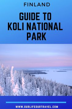 Koli National Park is a must-see place near Joensuu, Eastern Finland, and we recommend a visit during your Finland road trip as well! Spectacular, easy to reach (especially by car) and ideal for a day trip but also for longer hiking adventures as well. Places In Europe, Places Around The World, Travel Around The World, Around The Worlds, Finland Travel, Norway Travel, Travel Advice, Travel Guides, Travel Tips