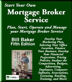 Mortgage broker business plan