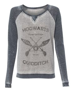 NEW STyLE ALeRT - Harry Potter Hogwarts Quidditch Team Captain super soft burnout style womens pullover sweatshirt ladies girls by AlisonWunderlandAcc on Etsy https://www.etsy.com/listing/244119331/new-style-alert-harry-potter-hogwarts