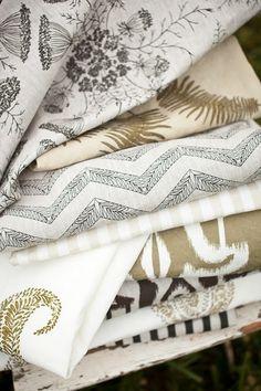 LL Textiles from Lauren Liess & Pure Style Home Home Textile, Textile Design, Textiles, Lauren Leiss, Modern Hepburn, Site Wordpress, Passementerie, Pretty Patterns, Fabulous Fabrics