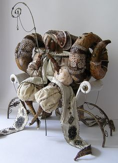 Fantasy | Whimsical | Strange | Mythical | Creative | Creatures | Dolls | Sculptures | ☥ | Lada Repina