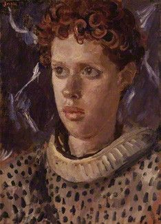 Dylan Thomas by Augustus Edwin John oil on canvas, circa 1937-1938 [National Portrait Gallery]
