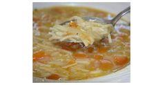 soupe de légumes aux vermicelles