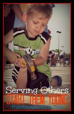 Volunteering with your children