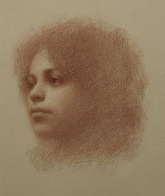 Portrait drawing by Susan Lyon Portrait Sketches, Pencil Portrait, Portrait Art, Figure Painting, Figure Drawing, Painting & Drawing, Graphite Drawings, Art Drawings, Charcoal Portraits