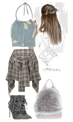 """""""Untitled #52"""" by eleonora-ntouma on Polyvore featuring Moschino, Vivienne Westwood Anglomania, Brunello Cucinelli, Vince Camuto and Kendra Scott"""