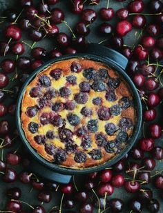 Cherry Clafoutis by Raymond Blanc Just Desserts, Dessert Recipes, Cherry Clafoutis, Pub Food, Classic Desserts, Sweet Pie, Food Test, Chef Recipes, Sweet Recipes