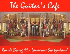 guitar's cafe lausanne switzerland guitar shop guitars cafe