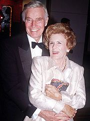 Charlton heston and wife Lydia. Wed in 1944, the couple had one of the longest-lasting marriages in Hollywood. The early days saw them undergo some difficult times until Charlton found fame.  he died in 2008 at the age of 84.