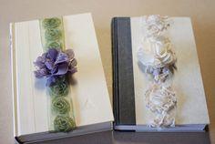 Frilly Ribbon & Fabric Flower DIY Bookmark | Fab You Bliss
