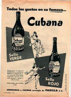 CUBANA, década del 50.
