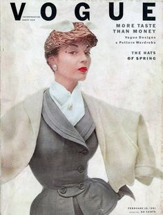 Vogue Cover February 1951