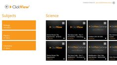 ClickView Player // The ClickView Player App gives you access to all the videos from the ClickView Exchange on your Windows 8 device. ClickView Exchange is a content sharing community which includes videos from free to air TV stations, recorded by many ClickView users.