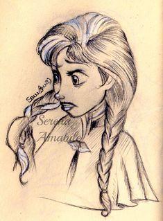 Anna . by SerenaAmabile on deviantART