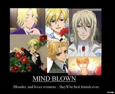 Tags: Anime, Vampire Knight, Kuroshitsuji, Ouran High School Host Club, Suou Tamaki