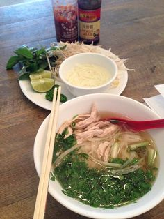 Learning Vietnam: Pho Ga Vietnamese Chicken Pho Noodle Soup recipe