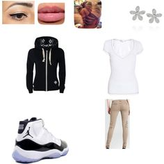 """school uniform swag"" by makeasha on Polyvore"