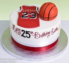 Image of: Basketball Cakes Photos Basketball Birthday, Basketball Cakes, Basketball Party, Cake Cookies, Cupcake Cakes, Jordan Cake, 25th Birthday Cakes, Ocean Cakes, Sport Cakes