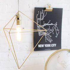 """DIY les """"himmeli """" Un luminaire et autres"""