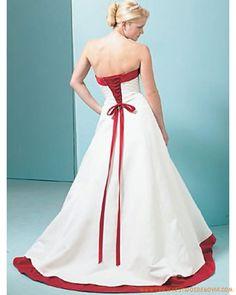 lÍnea A sin tirantes no cintura y sin costuras Princesas Vestidos de novias…