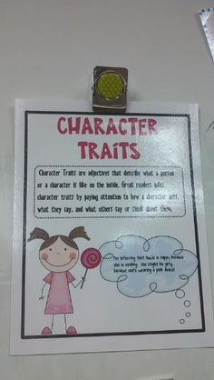 Character Traits by carlani