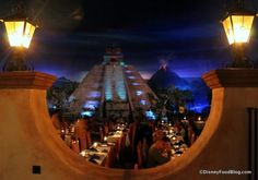 View of the Aztec Pyramid