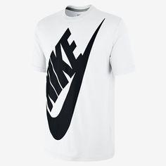 Nike Oversized Futura Men s T-Shirt. Nike Store Heather Black 1cf5e5cf9