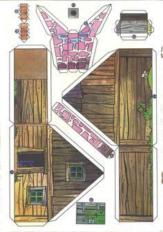 1136 best gaming medieval houses images paper models paper rh pinterest com