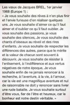 Jacques Brel citations