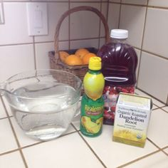 60oz of water (7 1/2 cups), 2 tbsp of lemon juice, 1 tbsp of augur free cranberry juice and 1 tea bag of dandelion root tea. Amazing for flushing your body, can lose 5-7 pounds of water weight in a week : ) #diet #weightloss #burnfat #bestdiet #loseweight #diets #diet #weightloss #burnfat #bestdiet #loseweight #diets