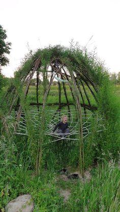 The Greenman Project - Levende kunstwerken & Recycle bouw
