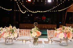 Una bella celebración de estilo vintage #Wedding #ebodas #flowers