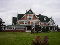 """Dalvay by the Sea on Prince Edward Island. This was used as the """"White Sands Hotel"""" in the Anne movies."""