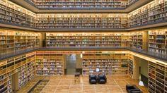 Bücherkubus im Studienzentrum der Anna-Amalia-Bibliothek in Weimar [Quelle: Klassik-Stiftung Weimar, Ulrich Schwarz]
