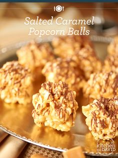 Four words: Salted #Caramel Popcorn Balls! Try this delicious snack #recipe