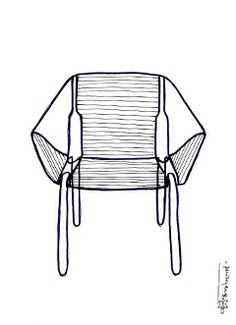 Soba Chair -Sketch pcm design