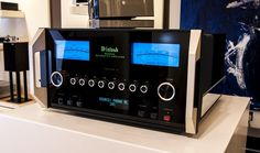 McIntosh power amp....yum yum. Impractical but I want it.