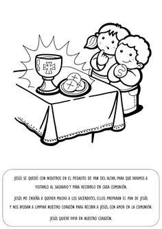 La Catequesis: Explicación con imágenes para niños: Sagrado Corazón de Jesús e Inmaculado Corazón de María