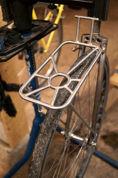 Custom front rack w. radians by timichango, via Flickr