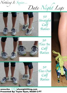 3 Exercises for more toned calves