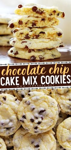 Tis' the season for Christmas cookies! And with the hustle and bustle of the holiday season, you'll need a Christmas cookie recipe that is both easy and delicious! These Chocolate Chip Cake Mix… More
