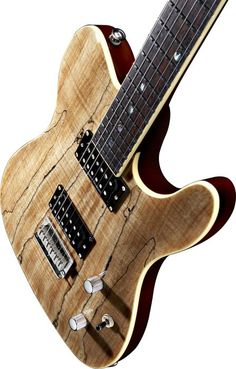 Fender Special Edition Custom Telecaster Spalted Maple - This makes me drool!